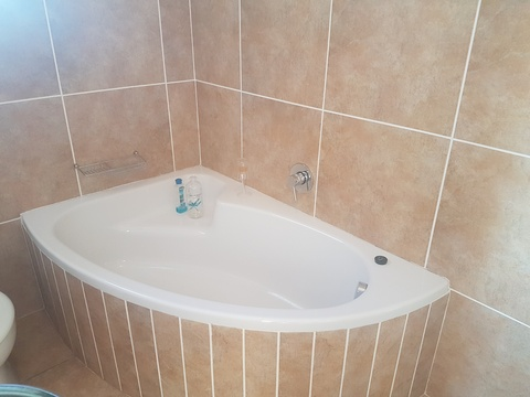 Luxury bath in main bedroom